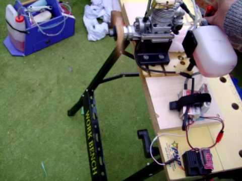 Saito 120 with RCEXL cdi ignition.