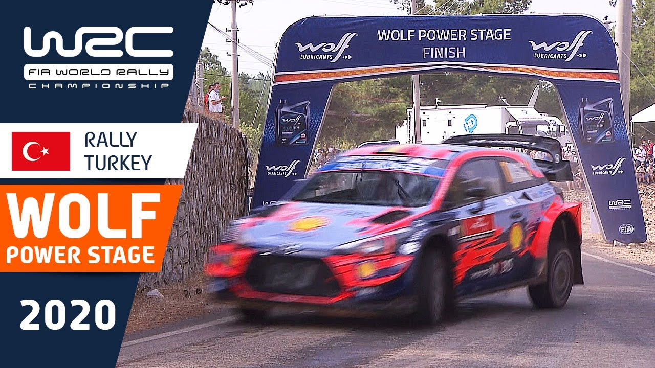 WRC - Rally Turkey 2020: WOLF POWER STAGE Highlights