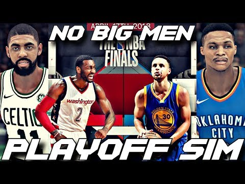 THE NBA HAS NO BIG MEN IN THE 2018 PLAYOFF SIMULATION ON NBA 2K18!!!