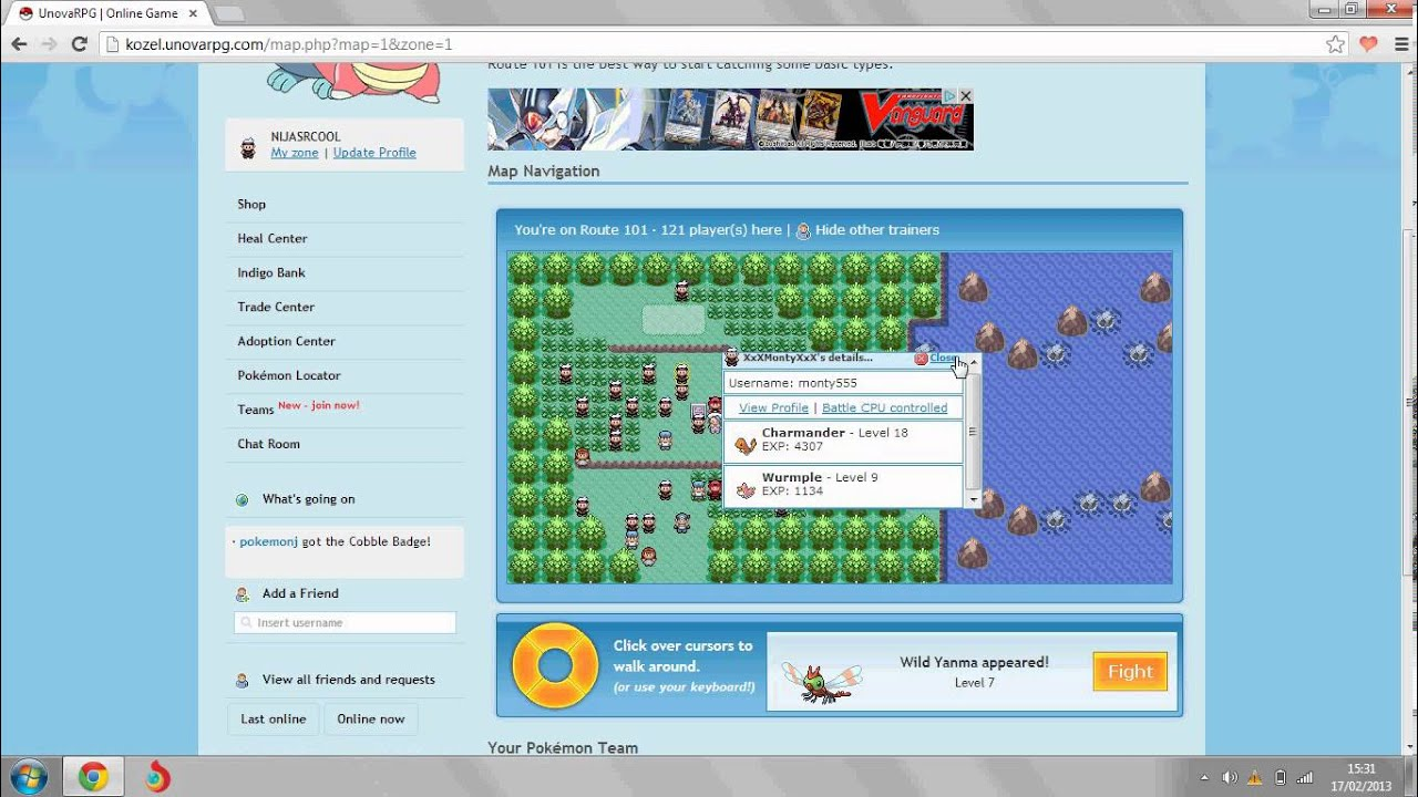 how to play pokemon unova rpg