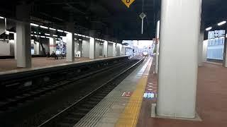 【博多駅・787系・特急有明】787系BM-3特急有明2号博多行到着シーン