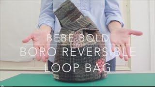 Boro Inspired Reversible Loop Bag