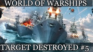 World of Warships Target destroyed #5