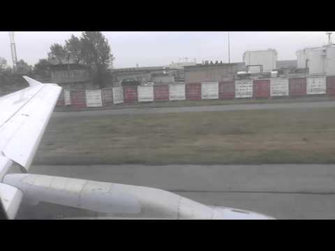 Lufthansa Airbus A321 Start Up, Taxi, Takeoff from Moscow Domodedovo Airport