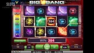 Потрясающие коэффициенты автомата Big Bang (Большой взрыв)