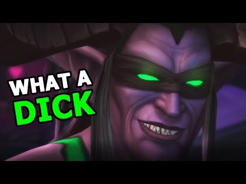 Ok Fine Let's Talk About That 7.3 Cinematic - Illidan Being A D**k