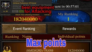 Clash of kings- how to get max points when attacking Crazy Dragon 🐉