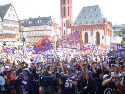 Frankfurt Galaxy 2006 World Bowl Champions Celebration at Frankfurt Main AM