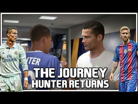 FIFA 18 The Journey Hunter Returns *FIRST LOOK* LOS BLANCOS