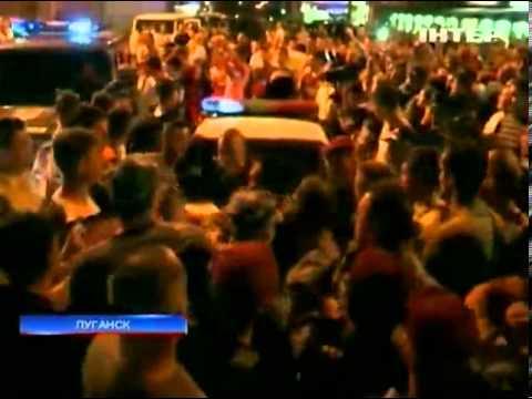 Жители Луганска хотели устроить самосуд над пьяным в...
