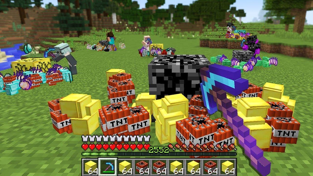 so i created a Minecraft Server with RANDOM drops..