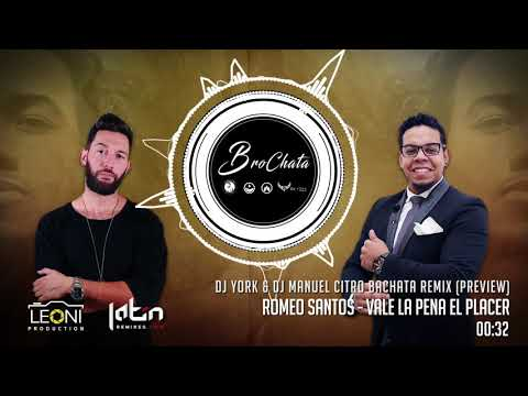 Romeo Santos – Vale La Pena El Placer (Dj York & Dj Manuel Citro Bachata Remix) PREVIEW