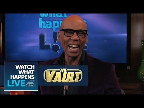 RuPaul On Andy Cohen's Drag Name And Favorite Gay Vacation Spots | WWHL Pride | WWHL