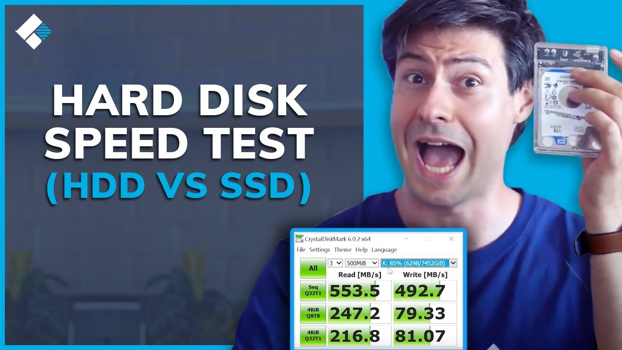 SSD vs HDD Speed Test 2020 [Perform Hard Disk Speed Test]