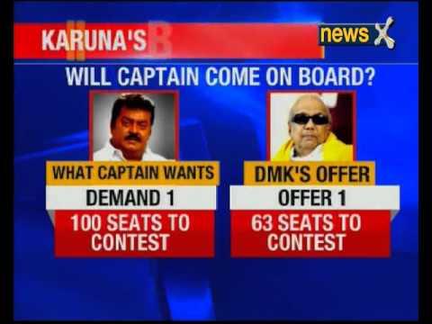 M Karunanidhi says DMK open to DMDK alliance