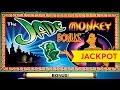 Jade Monkey Slot - JACKPOT HANDPAY - $20 Bet!