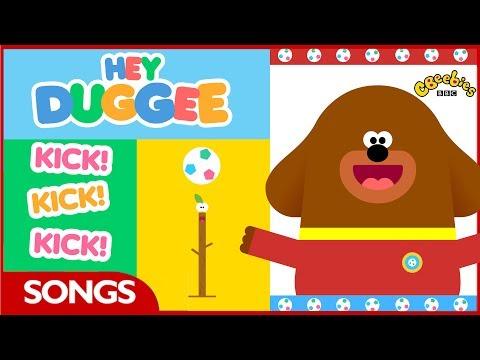Hey Duggee   World Cup Kick Song   CBeebies