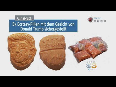 Police Seize 5,000 Trump-Shaped Ecstasy Pills