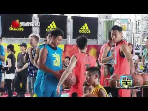 2015 Jeremy Lin 林書豪 Asia Tour Hong Kong - Cable TV Interview
