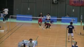 秩父宮・秩父宮妃杯争奪 第67回全日本学生バドミントン選手権大会①