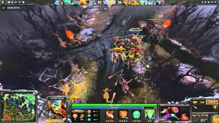 Dota 2 Ability draft: Elder Titan oneshot build (jinada+enchant totem+natural order)