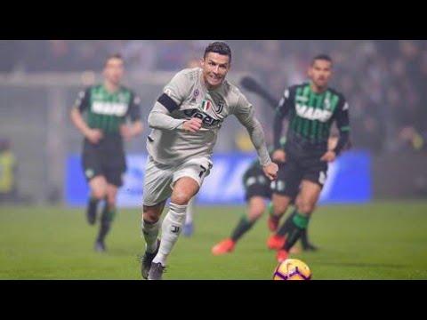 Cristiano Ronaldo Performance vs Sassuolo || 10/02/2019 HD 1080i
