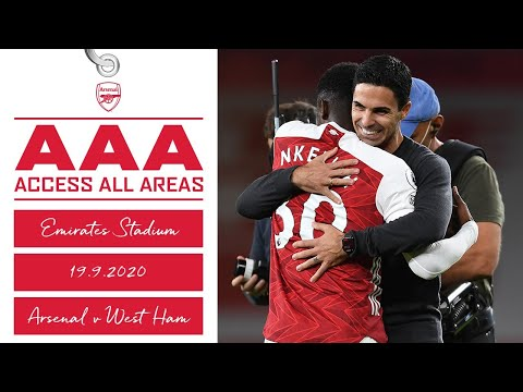 ACCESS ALL AREAS | Arsenal vs West Ham (2-1) | Premier League