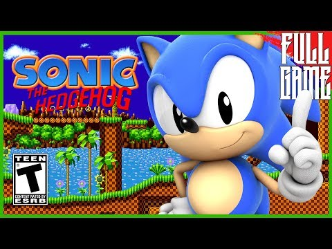 【Sega Genesis Classics】Sonic The Hedgehog Gameplay Walkthrough [PC - HD] thumbnail