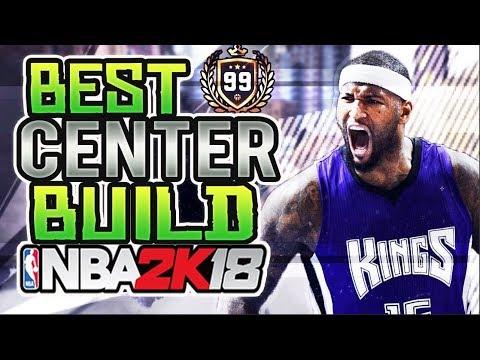 NBA 2K18 - BEST OVERPOWERED CENTER ARCHETYPE BUILD!! BEST BIG MAN BUILD IN 2K!