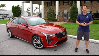 Is the NEW 2020 Cadillac CT4-V a BETTER performance sedan than the Audi S3?