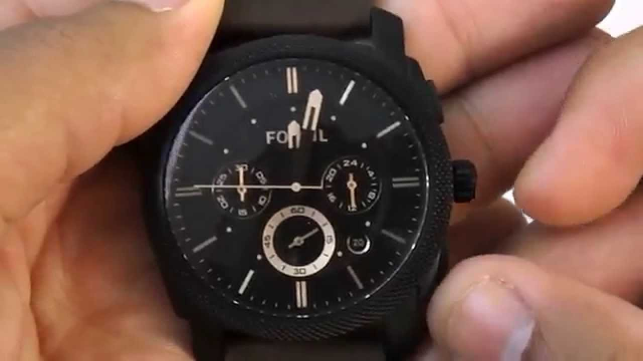 bbf6ad8c10e Relogio Masculino Fossil Ffs4656 z - YouTube