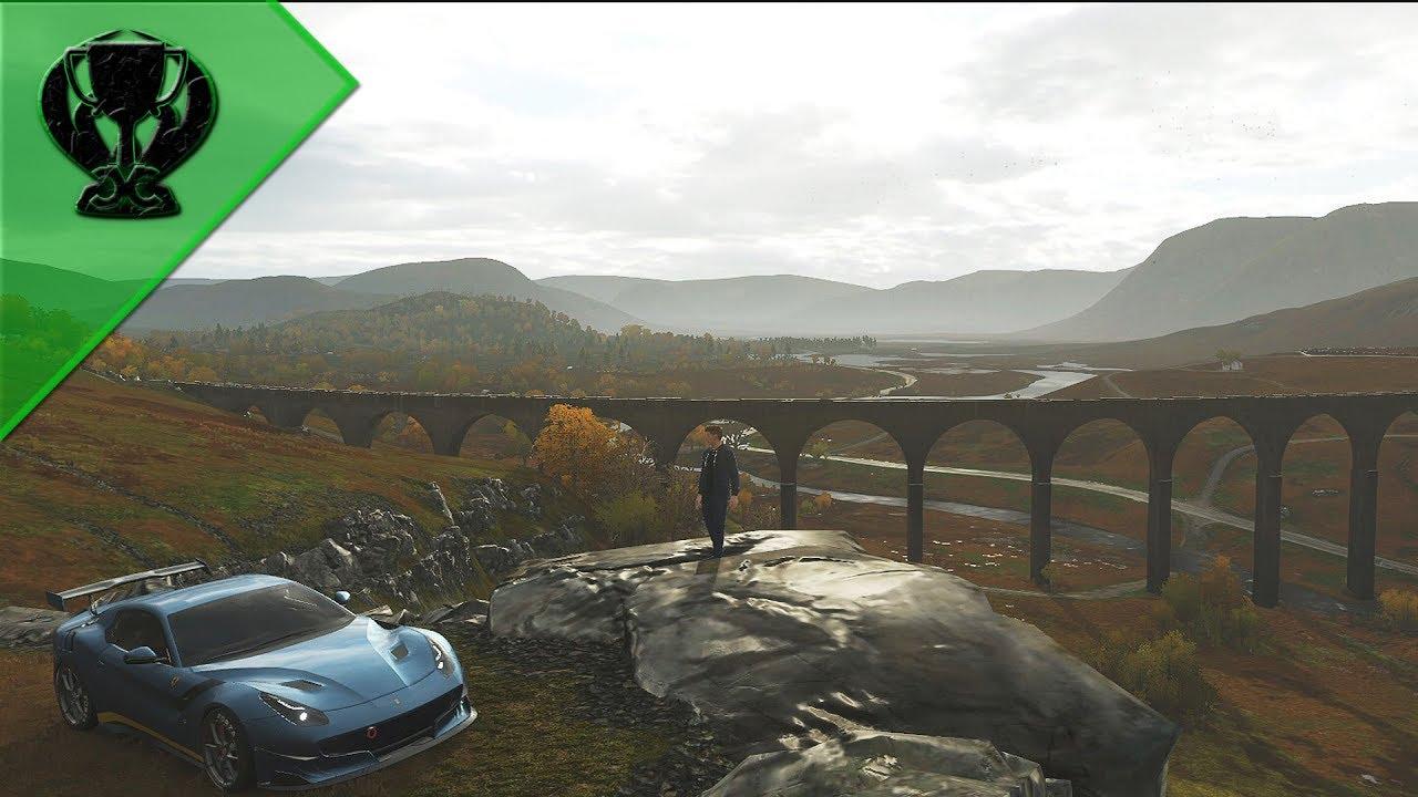 Forza Horizon 4: Localização de Todos os Pontos Turísticos (