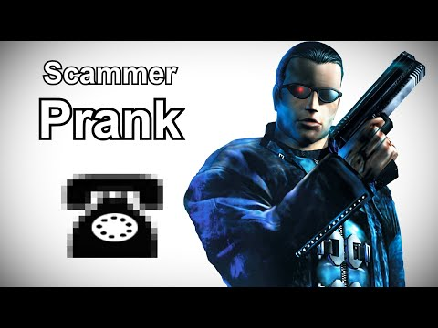 JC Denton Calls Even More Tech Support Scammers - Deus Ex Prank