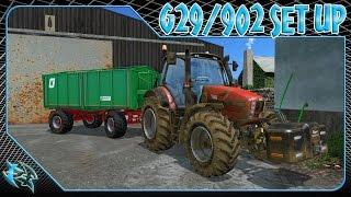 G29/902 - FARMING SIMULATOR 15 - SET UP #farmingsimulator15