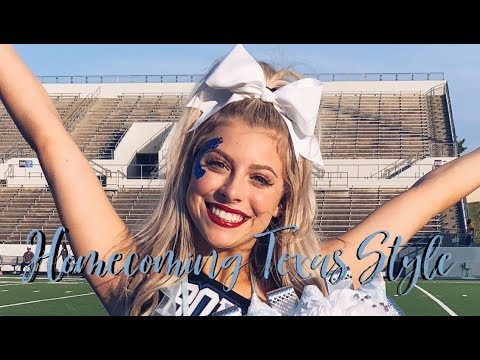 DAY IN THE LIFE OF A CHEERLEADER: HOMECOMING | Erin Alexis