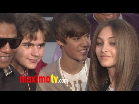 Justin Bieber Meets Paris Jackson