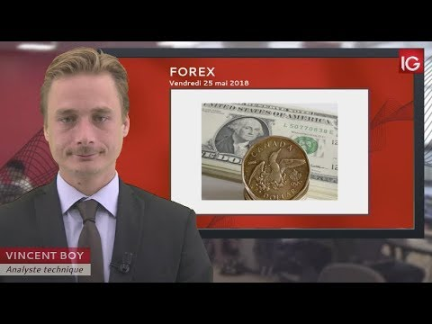 Bourse - USD/CAD, la chute du pétrole pénalise le cross - IG 25.05.2018