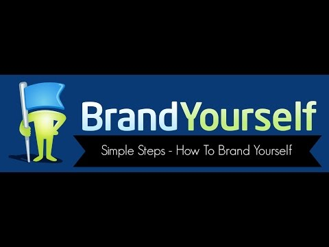 Branding Yourself - 7 Simple Steps How to Brand Yourself