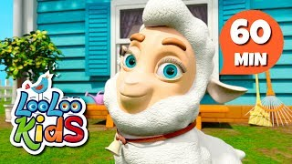 Mary Had a Little Lamb - Amazing Songs for Children | LooLoo Kids
