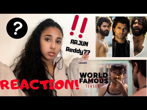 WORLD FAMOUS LOVER | Vijay Deverakonda | Teaser Reaction