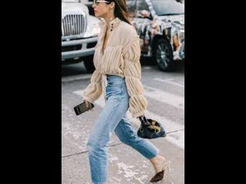 New ways to wear mom jeans 2019