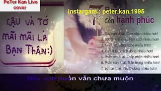 Phải Thật Hạnh Phúc | Cover PeTer Kan ( Video Lyrics ) nhạc buồn thất tình