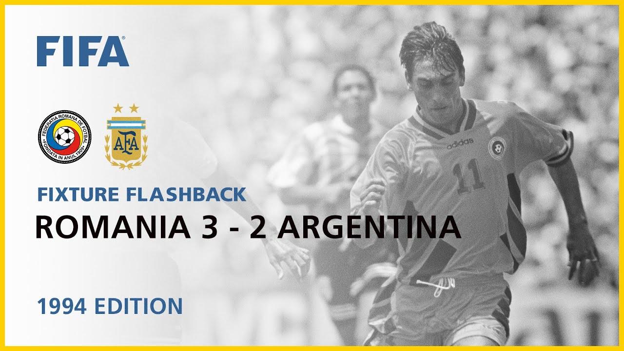 Romania 3-2 Argentina | USA 1994 | FIFA World Cup