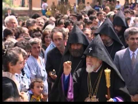 Repose Of Soul Service In Memory Of His Holiness Karekin I Of Blessed Memory