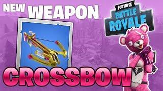 Getting Wins with the NEW Crossbow in Fortnite: Battle Royale - w/ Boyd147 & RdyFreddy