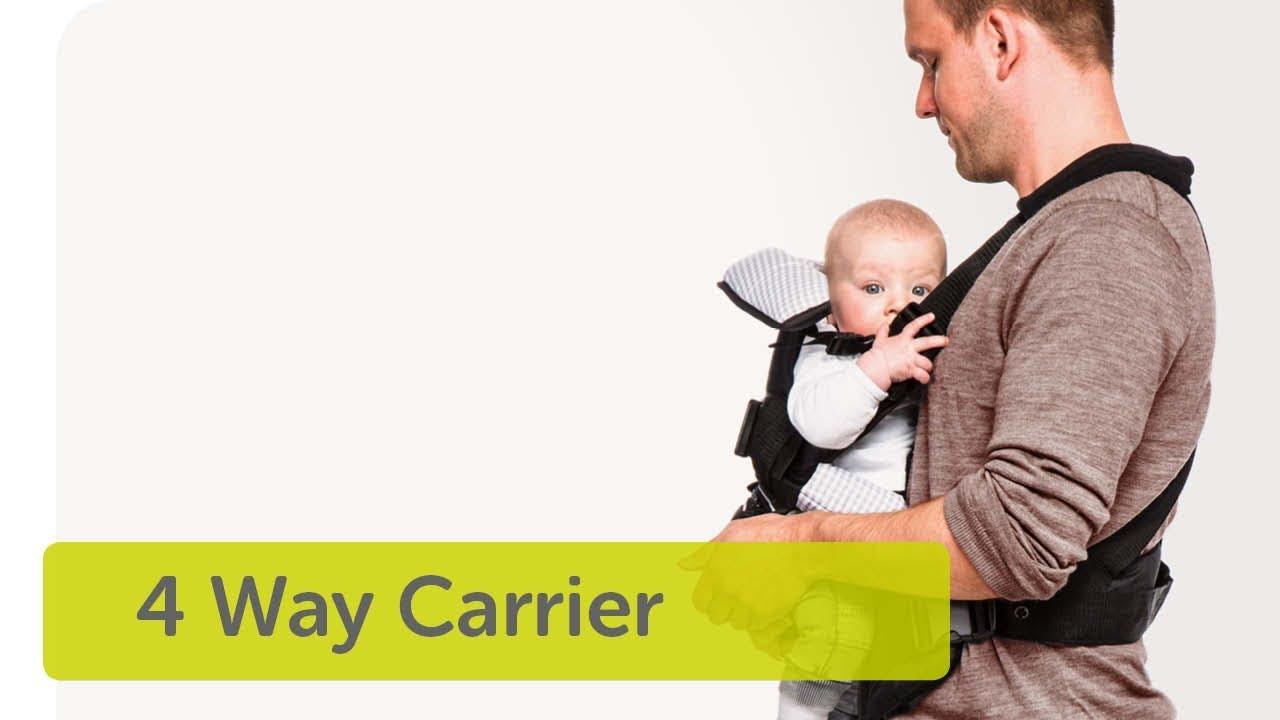 853de8e10be hauck - 4 Way Carrier - YouTube