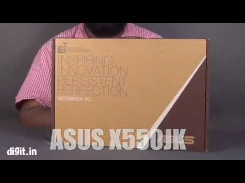 Unboxing ASUS X550JK Entertainment Laptop  (Review)