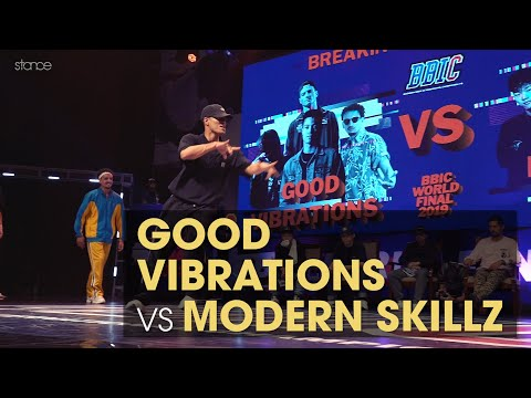 GOOD VIBRATIONS Vs MODERN SKILLZ (Korea) - Top 8 // .stance @ BBIC 2019