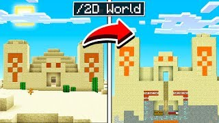 How to CREATE a 2D Minecraft WORLD!