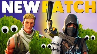 NEW SILENCED UPDATE / PATCH NOTES | Fortnite Battle Royale